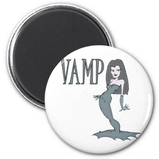Vamp Refrigerator Magnet