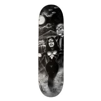 Vampira Plan 9 zombies Skate Deck