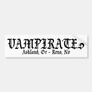 Vampirates Sticker Bumper Sticker
