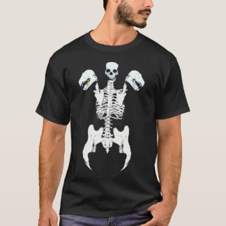 Vampire Abomination Skeleton T-Shirt