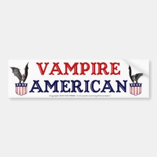 Vampire American Bumper Sticker