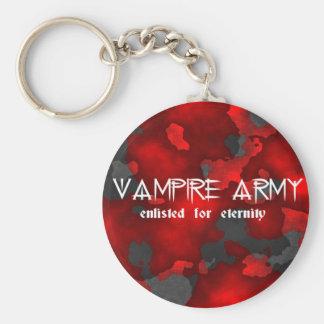 Vampire Army Gothic Humor Key Ring