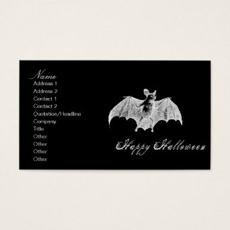 Vampire Bat Wishes Business Card
