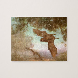 Vampire Bats by CE Swan, Vintage Wild Animal Jigsaw Puzzle