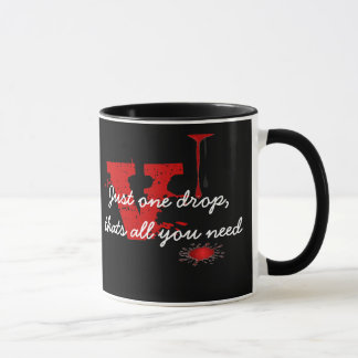 vampire blood just one drop mug
