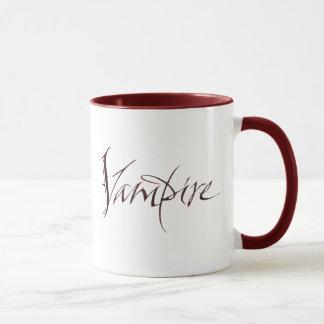 Vampire Blood Mug - Halloween Lettering