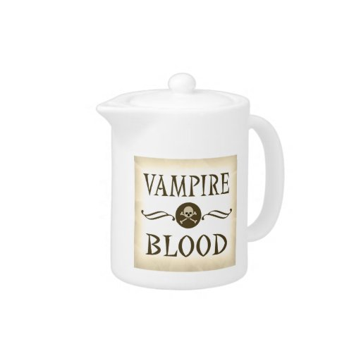 Vampire Blood Vintage Halloween Potion Label