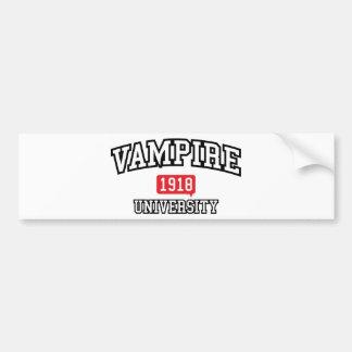 Vampire Car Bumper Sticker