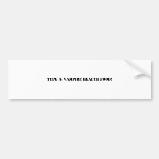 vampire bumpersticker bumper sticker