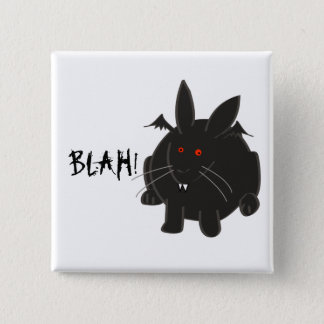 Vampire Bunneh 15 Cm Square Badge