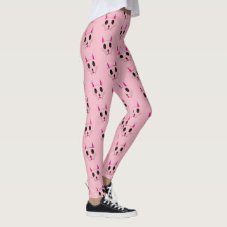 Vampire Bunnies Kawaii Goth Leggings