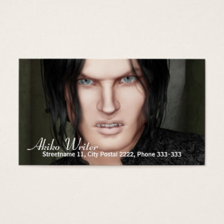 Vampire Business Card