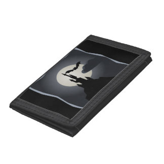 Vampire Castle Tri-fold Wallets