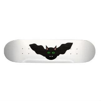 Vampire Cat Faced Bat Halloween Skateboard