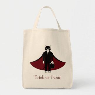 Vampire Cat Trick-or-Treat Bag