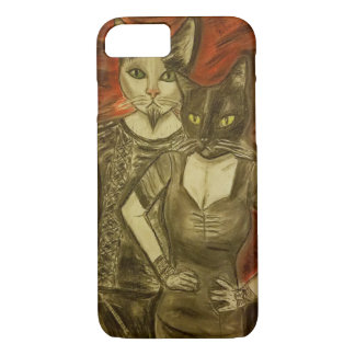 Vampire Cats iPhone 8/7 Case