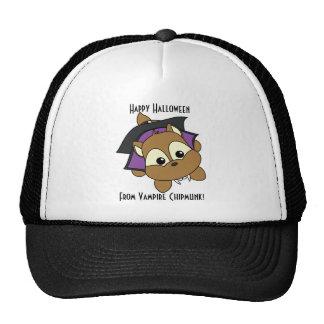 Vampire Chipmunk Trucker Hats