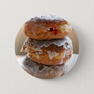 Vampire Donut Stack 6 Cm Round Badge
