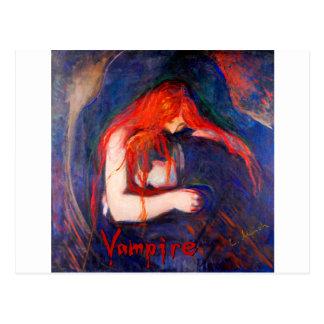 Vampire Edvard Munch Postcard