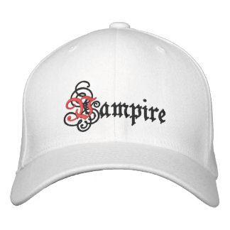 Vampire Embroidered Hats