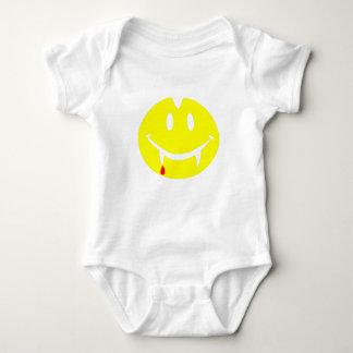vampire emoji dracula baby bodysuit