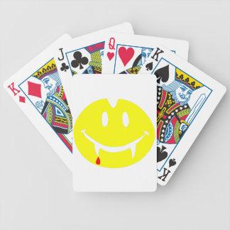 vampire emoji dracula bicycle playing cards
