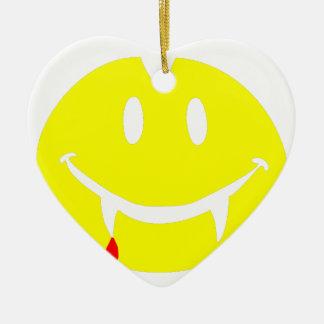 vampire emoji dracula ceramic ornament