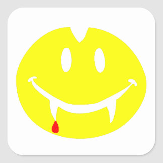vampire emoji dracula square sticker