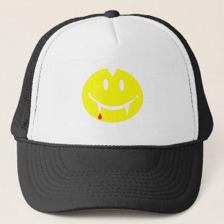 vampire emoji dracula trucker hat