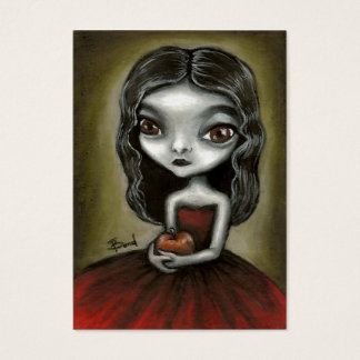 Vampire girl ACEO prints Business Card