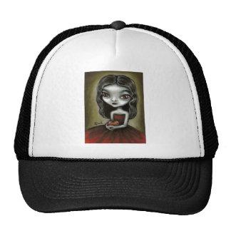 Vampire girl trucker hat