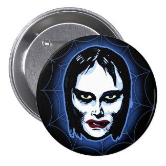 Vampire Girl (horror) 7.5 Cm Round Badge