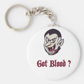 Vampire Got Blood Design Key Ring