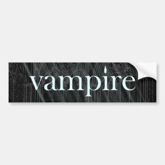 Vampire Gothic Bumper Sticker