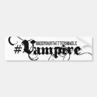 Vampire - Gothic Grunge Bumper Sticker