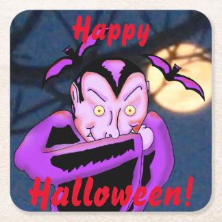 Vampire Halloween Coasters