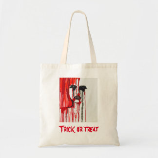 Vampire Halloween trick or treat candy bag