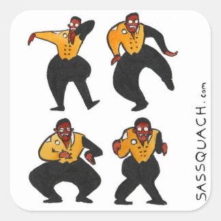 Vampire Hammer Square Sticker