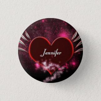 Vampire_Heart_Jennifer 3 Cm Round Badge
