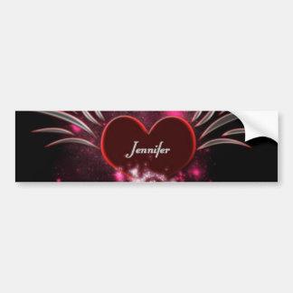 Vampire_Heart_Jennifer Bumper Sticker