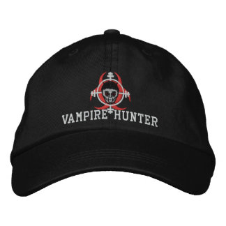 Vampire Hunter Hat Embroidered Baseball Cap