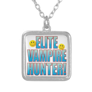 Vampire Hunter Life B Silver Plated Necklace