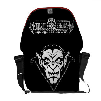 Vampire Hunters Dracula Face Messenger Bag