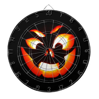 Vampire Jack-O-Lantern Dartboard