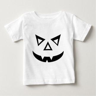 Vampire Jack-o-Lantern Face Baby T-Shirt