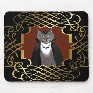Vampire Kitty Portrait Mousepad