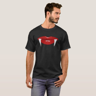 Vampire Lips & Fangs Men's T Shirt