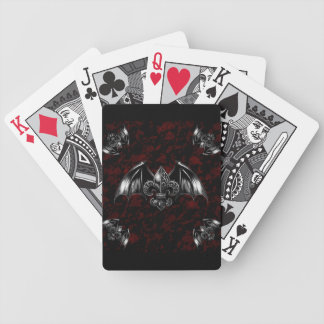Vampire Lord Gothic Art Bicycle Playing Cards