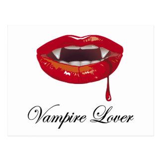 Vampire Lover Postcard