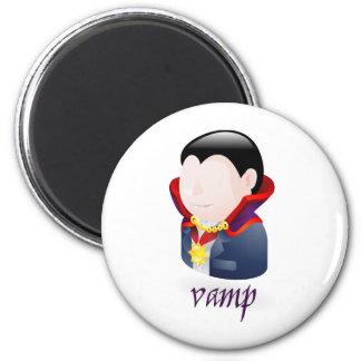 vampire refrigerator magnet